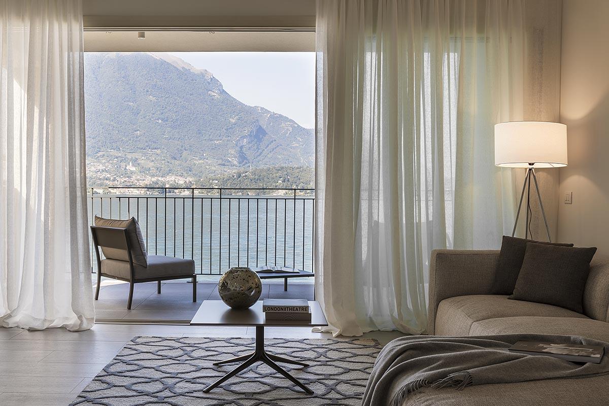 appartamenti di lusso vista lago