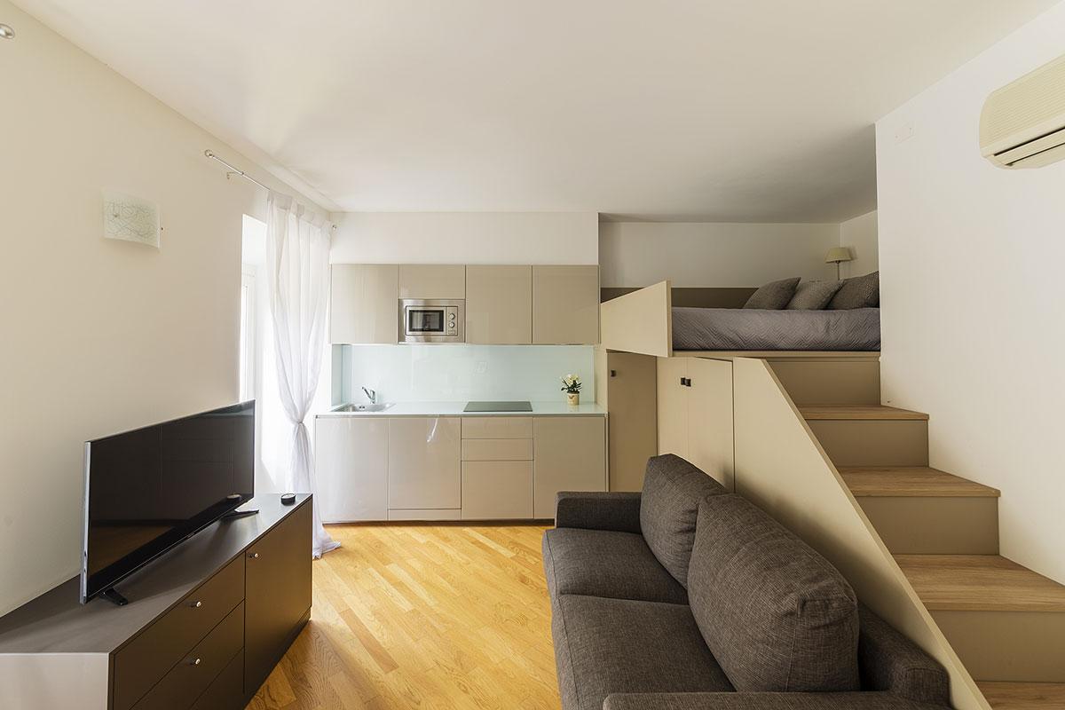 appartamento arredato in centro como