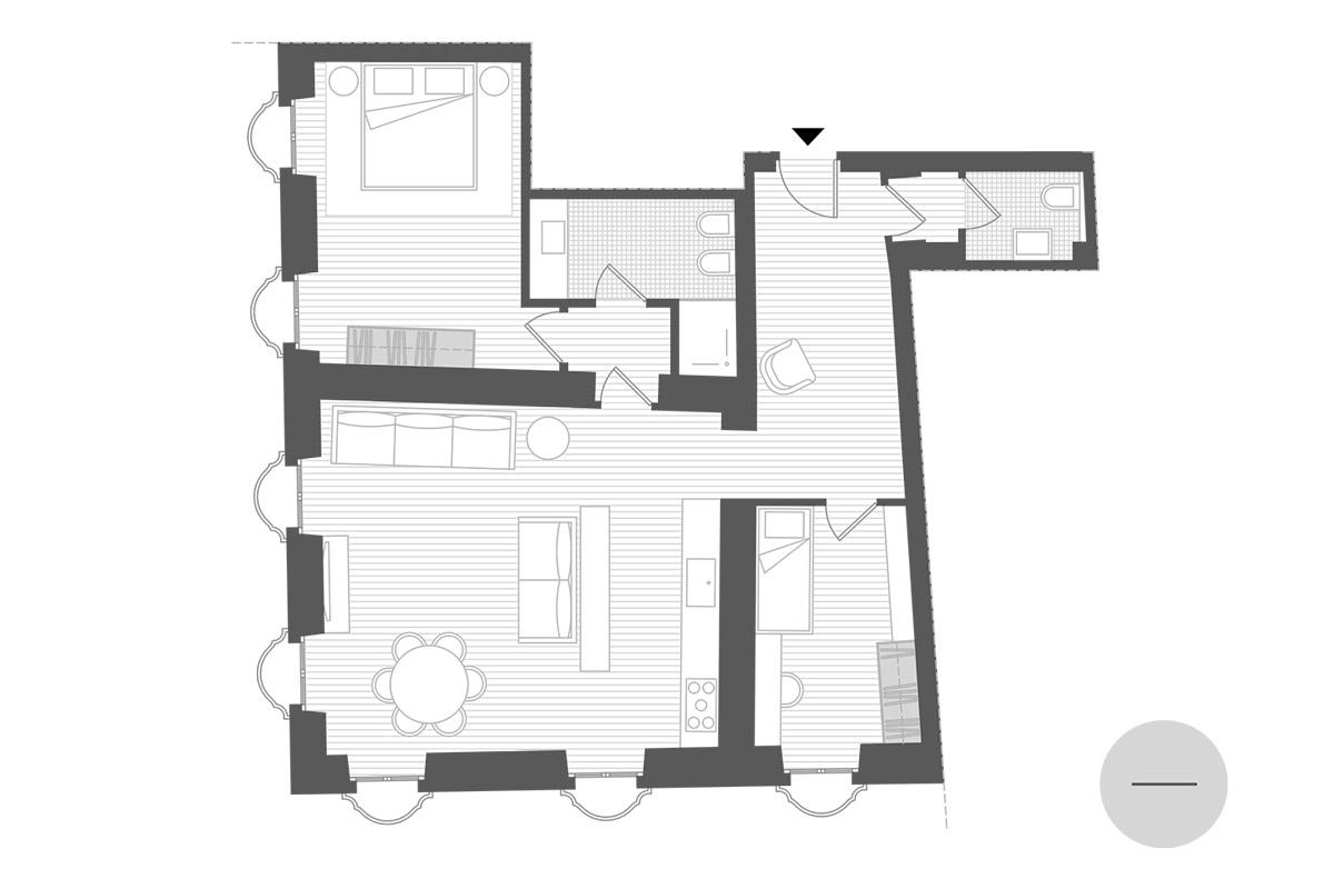 planimetria appartamento 2y