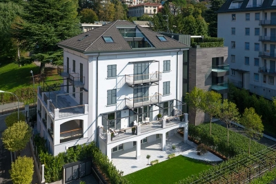 residenze di lusso in centro como