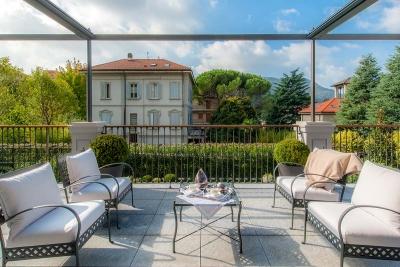 residenze di lusso con ampi terrazzi